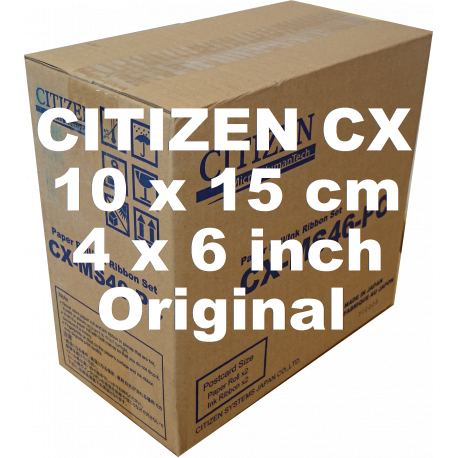 "Mediaset Citizen CX Original  (10x15cm), 4""x6"", 2x400 Prints"
