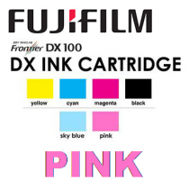 Fuji DX100 Ink Cartridge Pink 200 ml