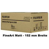 Fuji DX100 Papier FineArt Matt 152mm x 60m, 230g/m³