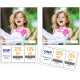 Mediaset DNP DS40 - Perforated 10x15cm / 4x6 inch - 2x400 Prints