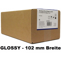 "Sure Lab Pro-S Paper Glossy 4""x65 2 rolls (102mm)"