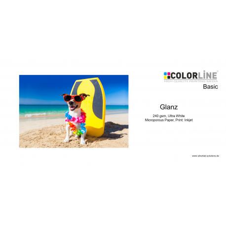 Colorline - Photo-Paper, 240gsm, glanz, 24 Zoll, 30 m.