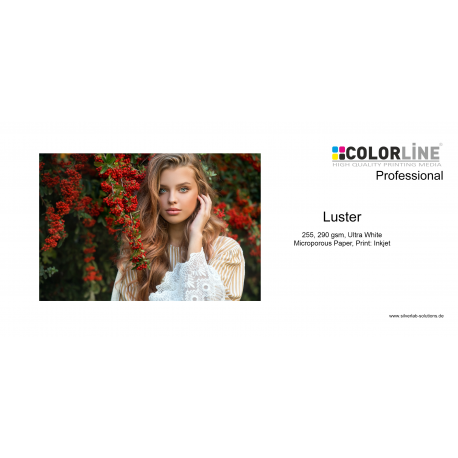 Colorline - Photo-Paper, 290 gsm, Luster, 24 Zoll, 30 m.