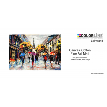 Colorline - Leinwand, 390 gsm, Cotton Matte Fine Art, 24 Zoll, 18 m.