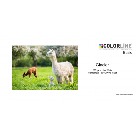 Colorline - Photo-Paper, 260gsm, Glacier, 44 Zoll, 30 m.