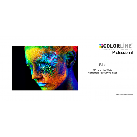 Colorline - Photo-Paper, 270 gsm, Seidenraster, 44 Zoll, 30 m.