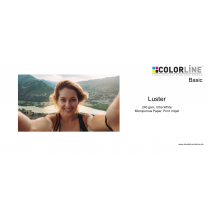 Colorline - Photo-Paper, 240 gsm, Luster, A4 Blattware, 100 Blatt