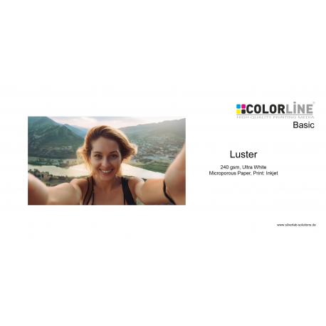 Colorline - Photo-Paper, 240gsm, Luster, A3+, 100 Blatt