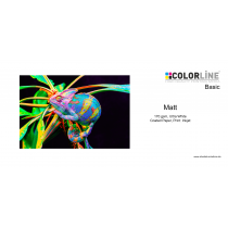 Colorline - Basic - Photo-Paper, 170 gsm, Matt, A4, 100 Blatt
