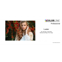 Colorline - Photo-Paper, 255 gsm, Luster, A4, 100 Blatt