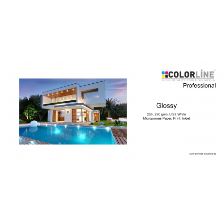 Colorline - Photo-Paper, 290 gsm, glanz, 24 Zoll, 30 m.