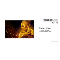 Colorline - Fine Art - 270 gsm, Radiant White, A4, 25 Blatt