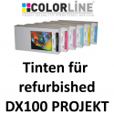 Tinten für refurbished Fuji DX100